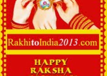 Shower Rakhi love and gifts to siblings